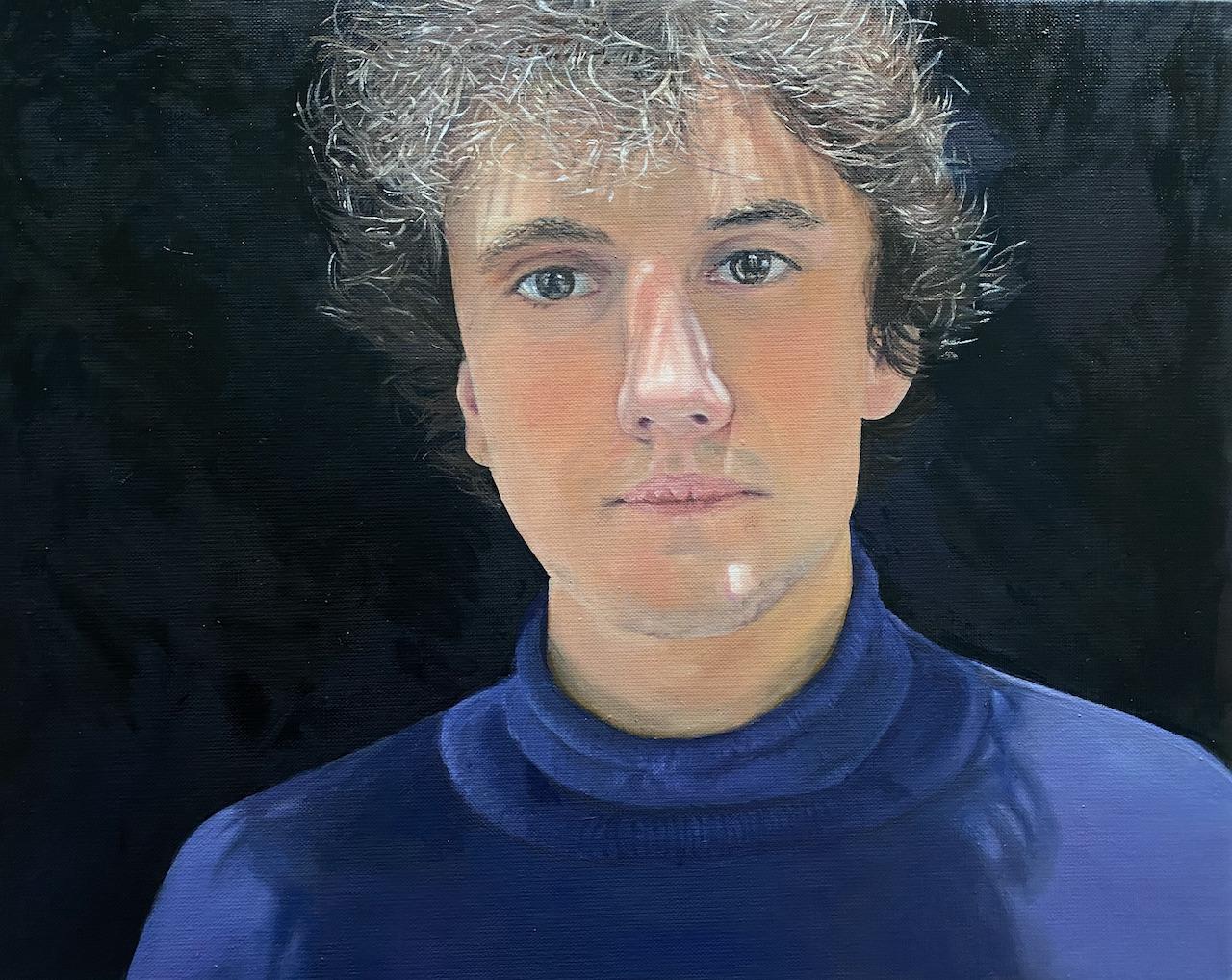 Arthur, Lockdown 2021 - Winnaar AVROTROS het geheim van de Meester schilderwedstrijd 2021